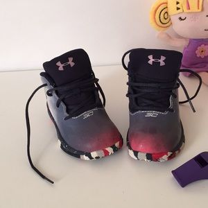 UNDER ARMOUR High-top toddler girl sneakers
